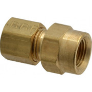 Parker® - Tube Fitting - 1/4 T x 1/8 Nptf Female Connector 66C-4-2 - PK of 10