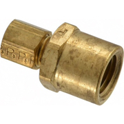 Parker® - Tube Fitting - 3/16 T x 1/4 Nptf Female Connector 66C-3-4