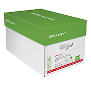 Office Depot® - Paper - Envirocopy 50 Paper, Letter Size, 20 lb, 50% Recycled, Fsc Certified, 500 Sheets Per Ream, Case of 10 Reams - EnviroCopy FSC Certified Paper