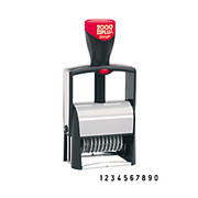 2000 Plus® - Stamper - Cosco 2000 Plus Self-Inking Numbering Stamp - Stamp, Numberer - CA of 2