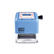 2000 Plus® - Stamper - Easy Select Self-Inking Date/phrase Stamp