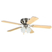 Craftmade - Ceiling Fan - Brushed Nickel 52 5 Blade Ceiling Fan with 4 Light Kit