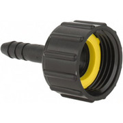 "Green Leaf - Hose Fitting - 3/4"" Fght x 1/4"" Barb P Three Piece Barb Assembly - CA of 12"