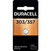 Duracell® - Watch Battery - 303/357 1.55v Sil-Ox Battery - CA of 10