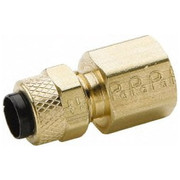 Parker® - Tube Fitting - 1/4 T x 1/4 Nptf Poly-Tite Female Connector - CA of 10