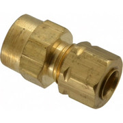 Parker® - Tube Fitting - 1/4 T x 1/8 Nptf Compress-Align Female Connector. - CA of 10