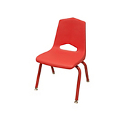 "Marco Group - Chair - Stacking Chairs 22"" h x 14-1/2"" w x 15-1/4"" d Red - CT of 6"