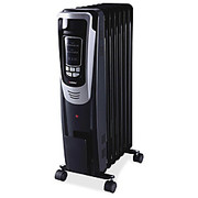 Lorell® - Space Heater - Led Display Electric Mobile Radiator Heater