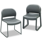"""HON® - Chair - Gueststacker 4030-Series Chairs, 31"""" h x 21"""" w x 21 1/2"""" d - Set of 4, Lava"""