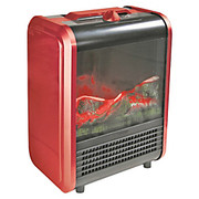 Comfort Zone - Space Heater -  Mini Electric Fireplace