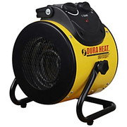 DuraHeat - Heater - 1500 Watt Electric Forced Air Heater with Pivoting Base