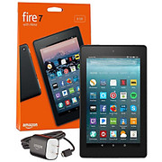 """Amazon - Tablet computers - Fire 7 Tablet - 7"""" - 1 GB Quad-Core (4 Core) 1.30 Ghz - 8 GB - Fire OS 5 - 1024 x 600 - in-Plane Switching (Ips) Technology - Black"""