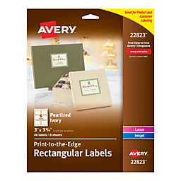 Avery® - Color coding labels - Cards - Rectangular Labels, 3