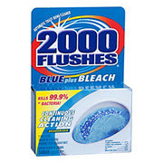 2000 Plus® - Bowl Cleaner - Blue Plus Bleach Bowl Cleaner 2000 Flushes W/bleach