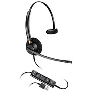 Plantronics® - Phone Headset - Headset - Corded Headset with USB Connection - HW515 USB Encore PRO Over the