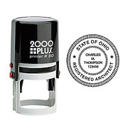 2000 Plus® - Stamps - R50 Self-Inking Round Stamp