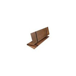 Double Size Brown DMI Folding Bed Board Mattress Support