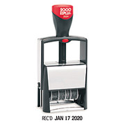 2000 Plus® - Stamps - Cosco 2000 Plus Self-Inking Phrase and Date Stamp