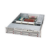 """Supermicro® - Computer chassis - Supermicro® Chassis - Rack-Mountable - 13.68"""" x 13"""" Silver"""