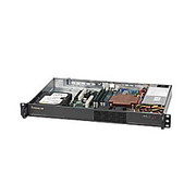 Supermicro® - Computer chassis - Supermicro® Sc510-200b Chassis 1U 200W Multi-Output Power Supply with 80 Plus W/ 20 Pin Output