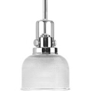 Progress Lighting™ - Fixture - Polished Chrome 1 100 Watts Medium Pendant