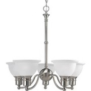 Progress Lighting™ - Chandelier - Chandelier 5-75w Medium