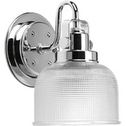 Progress Lighting™ - Sconce - Polished Chrome 1 100 Watts Medium Bracket
