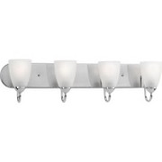 Progress Lighting™ - Fixture - 4 Light Bath
