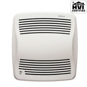 Broan® - Bathroom Fan - 110 Cfm 09 Sones Fan -- Ultra Silent 110-CFM Humidity-Sensing Auto-On-Off Bath Fan, White