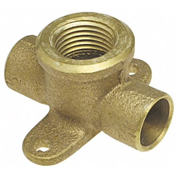 Nibco® - Pipe Fittings - 3/4 Cxcxf Cast Copper Drop Tee