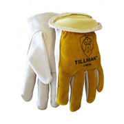 Tillman™ - Driver Glove - Welder's & Heat Protective Gloves Level 2 Brown Large 1/Pair Cowhide Leather Driver Glove