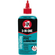 3-in-ONE® - Lubricant - 3-in-ONE® 4 oz Bottle Synthetic with Ptfe Penetrant/lubricant