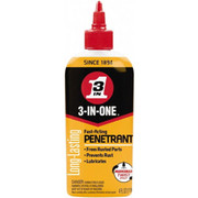 3-in-ONE® - Lubricant - 3-in-ONE® 4 oz Bottle Synthetic Penetrant/lubricant