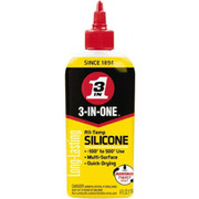 3-in-ONE® - Lubricant - 3-in-ONE® 4 oz Bottle Silicone Penetrant/lubricant