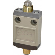 Omron - Limit Switch - Spdt, 4no/2nc, 30 Vdc, Microchange Terminal, Roller Plunger Actuator, General Purpose Limit Switch