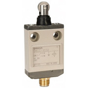 Omron - Limit Switch - Spdt, 4no/2nc, 30 Vdc, Microchange Terminal, Roller Plunger Actuator, General Purpose Limit Switch  D4CC3032
