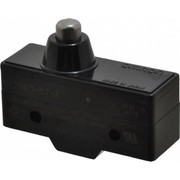 Omron - Snap Action Switch - 0.5 Amp at 125 Vdc, 1/4 Amp at 250 Vdc, 10 Amp at 125 Vac, 20 Amp at 250 Vac, Spdt, Pin Plunger, High Capacity Snap Action Switch