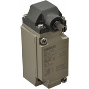 Omron - Limit Switch - Spdt, 4no/2nc, 600 Vac, Screw Terminal, Roller Lever Actuator, General Purpose Limit Switch  D4A1103N
