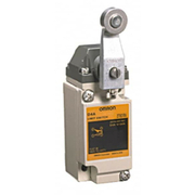 Omron - Limit Switch - Spdt, 4no/2nc, 600 Vac, Screw Terminal, Roller Lever Actuator, General Purpose Limit Switch  D4A1105N