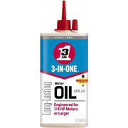3-in-ONE® - Lubricant - 3-in-ONE® Motor Oil 3 oz Can Mineral Multi-Purpose Oil