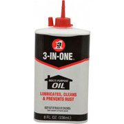 3-in-ONE® - Lubricant - 3-in-ONE® 8 oz Can Mineral Multi-Purpose Oil - PK of 2