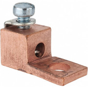 Thomas & Betts - Ring Terminals - 14-8 Awg Noninsulated Compression Connection Square Ring Terminal