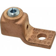 Thomas & Betts - Ring Terminals - 2/0-4/0 Awg Noninsulated Compression Connection Square Ring Terminal
