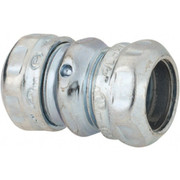"""Thomas & Betts - Conduit Fittings - 1/2"""" Trade, Steel Compression Emt Conduit Coupling"""