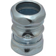 """Thomas & Betts - Conduit Fittings - 3/4"""" Trade, Steel Compression Emt Conduit Coupling"""