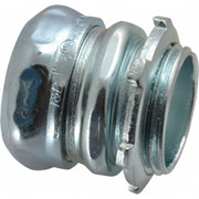 """Thomas & Betts - Conduit Fittings - 1"""" Trade, Steel Compression Straight Emt Conduit Connector"""