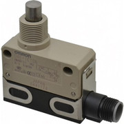 Omron - Limit Switch - Spdt, 4no/2nc, 125 Vac, 30 Vdc, Dc Connector Terminal, Plunger Actuator, General Purpose Limit Switch