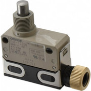 Omron - Limit Switch - Spdt, 4no/2nc, 125 Vac, 30 Vdc, Screw Terminal, Plunger Actuator, General Purpose Limit Switch