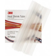 """3M™ - Electrical Tape - 6"""" Long, 2:1, Polyolefin Heat Shrink Electrical Tubing - PK of 10"""