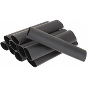 """3M™ - Electrical Tape - 6"""" Long, 3:1, Polyolefin Heat Shrink Electrical Tubing - PK of 10"""
